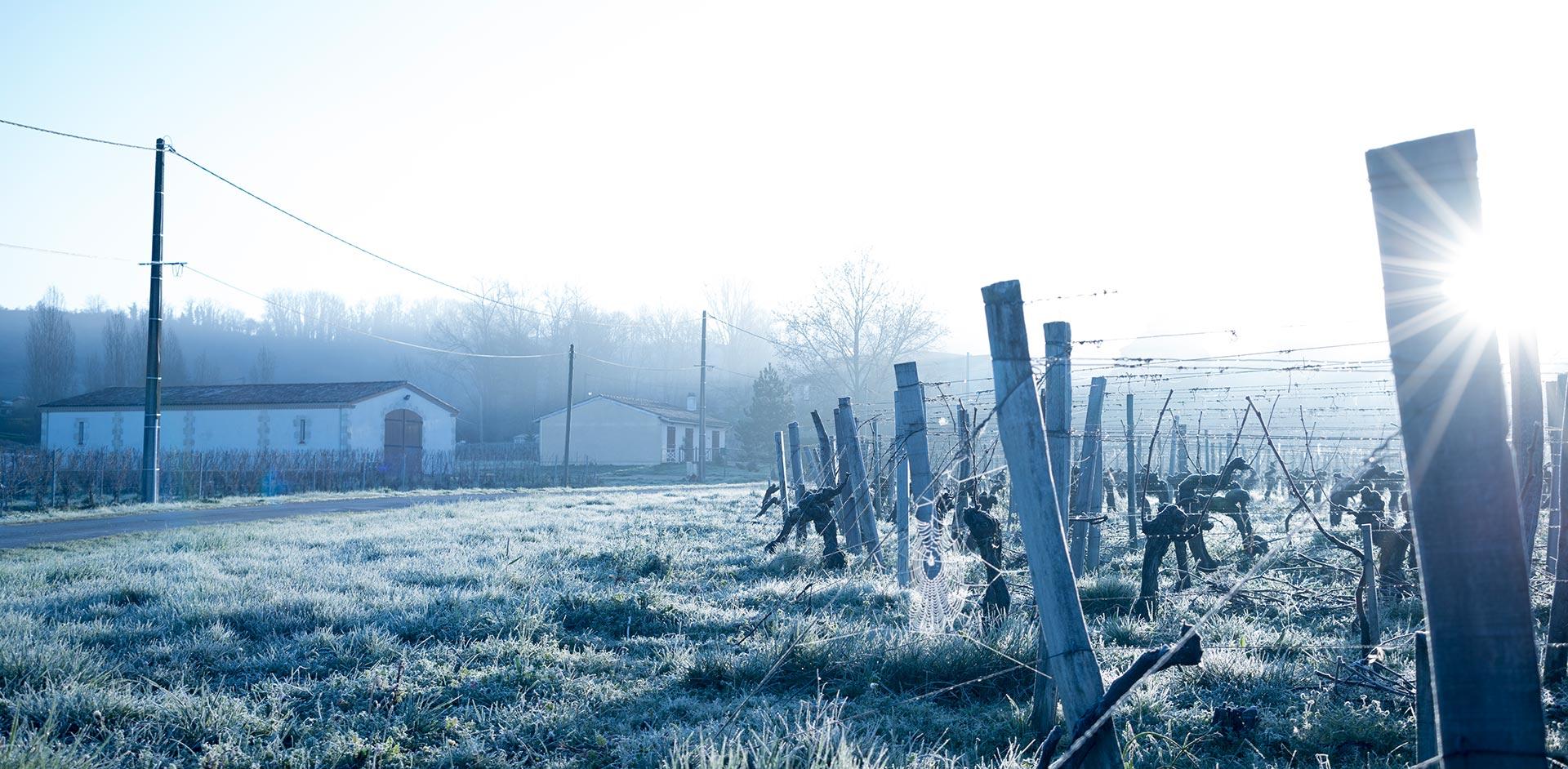 Château Verniotte in Winter