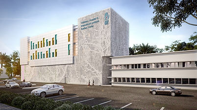 Hospital project, Israel - Multi perforated laser cut