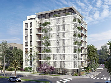 Residence building - Multi perforated aluminum