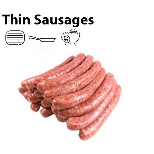 Thin Sausages (per kg)