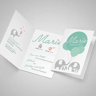 Invitation - Greeting Card Mockup - By P