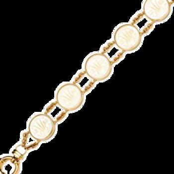 9ct Threepence Bracelet