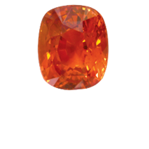 Orange Sapphire  4.50ct