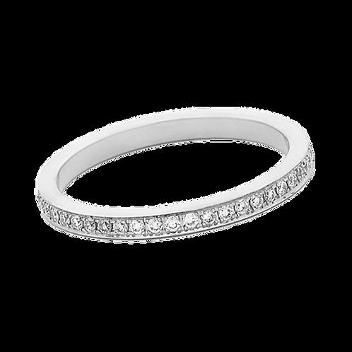 18ct White Gold Diamond Full Eternity Ring