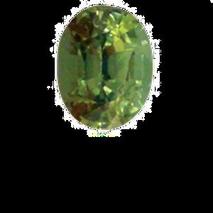 Green Sapphire  0.77ct