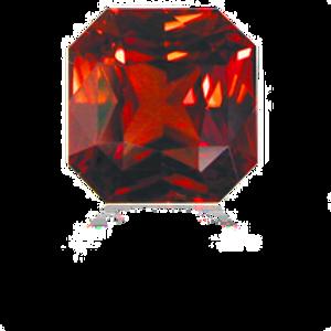 Cognac Zircon  6.94ct
