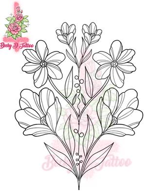 Symmetrical Floral #1