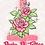 Thumbnail: Becky D Logo - Glitter Sticker
