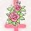 Thumbnail: Cross & Roses - Glitter Sticker
