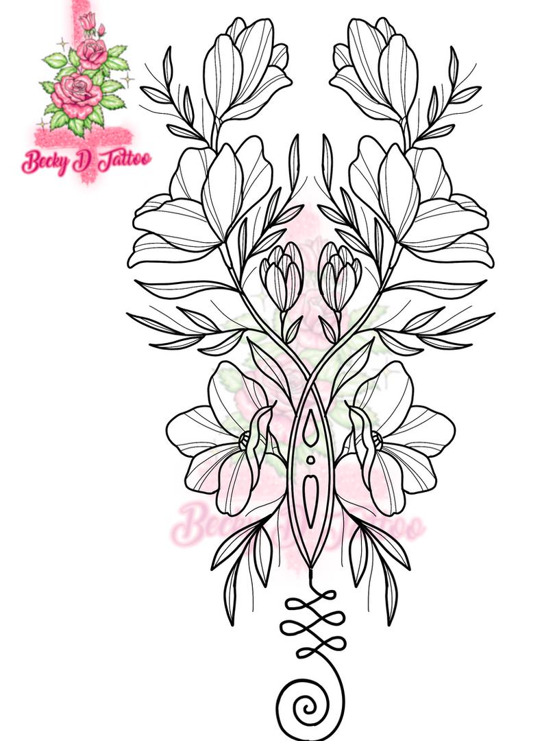 Unalome Floral