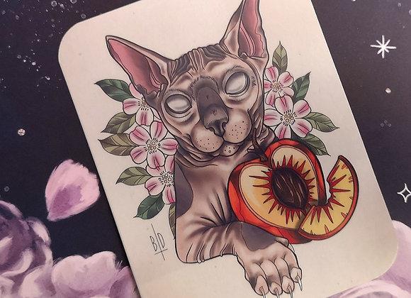 Peach - Sticker