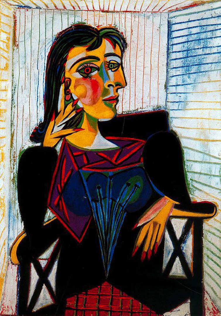 Portrait of Dora Maar
