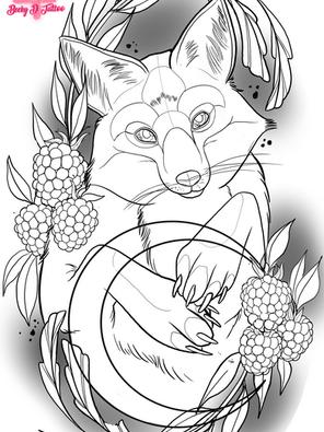 Fox & Berries