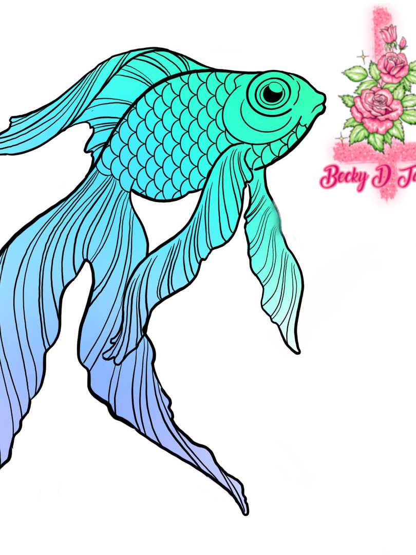 Goldfish Colourblock A