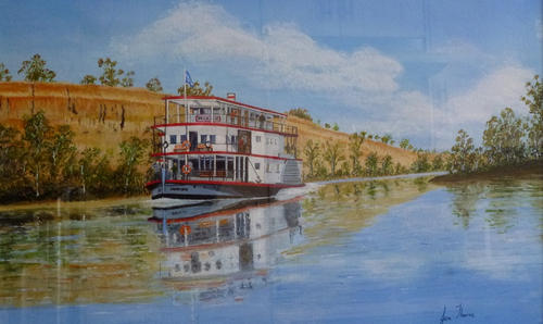 Marion river boat on the Murray