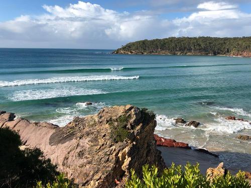 Waves Pambula Beach
