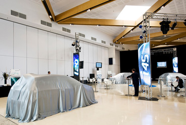 Product Launch Demonstration Space