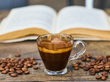 Minha dose diária de café em forma de amor