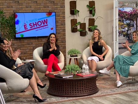 """#PapoMalude30 no Programa """"A tarde É Show"""" com Nani Venâncio"""