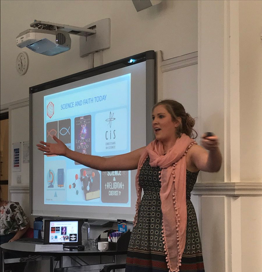Lizzie Henderson from The Faraday Institute presents on science and religion education for children and young people