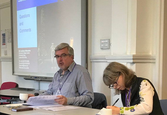 Dr Michael Fuller chairs the SRF Annual General Meeting