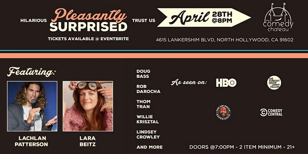 Pleasantly Surprised Comedy Show