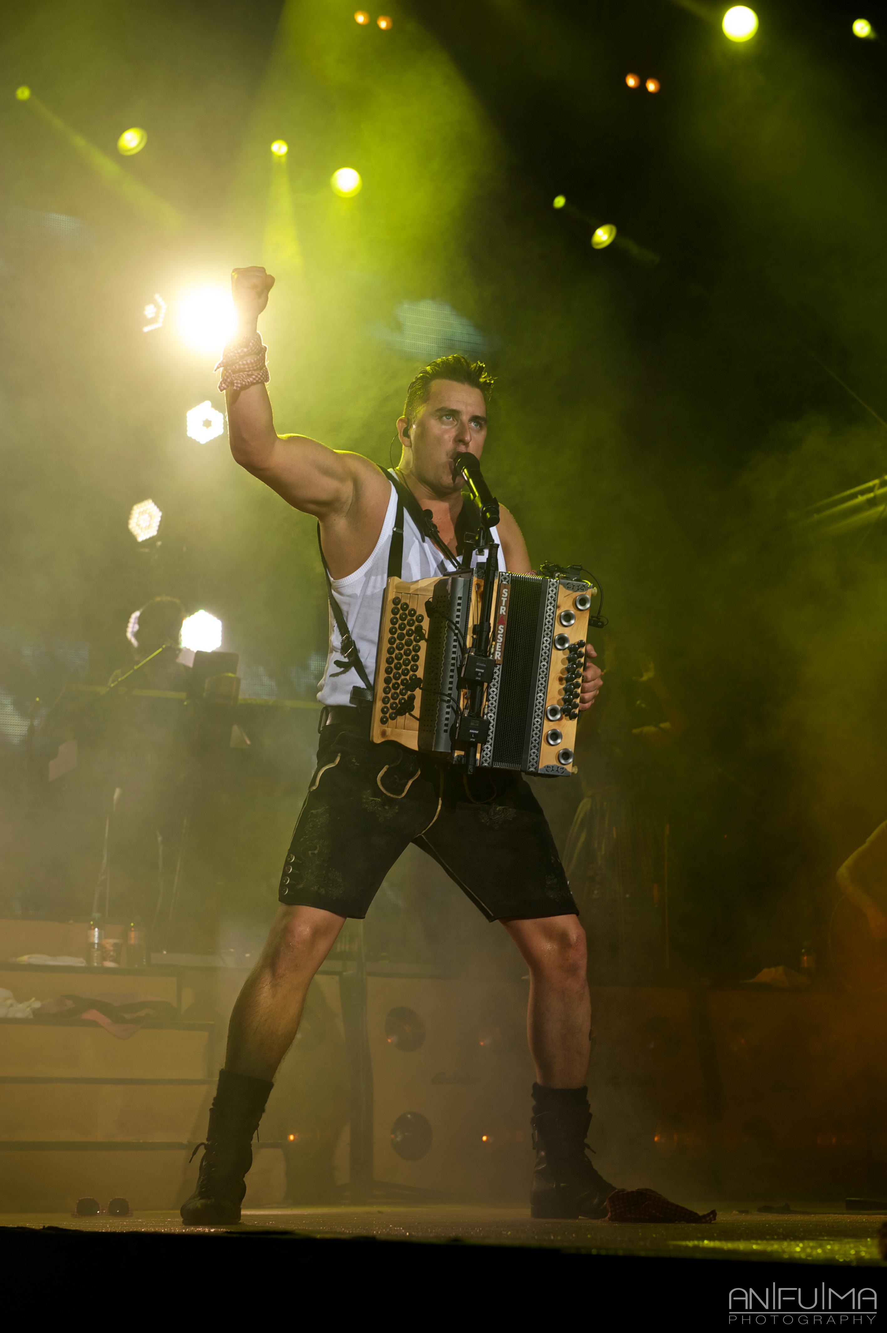 Andreas Gabalier, Musician