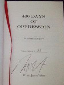 400 Days of Oppression - Hardcover
