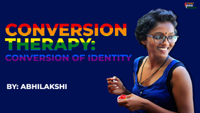 Conversion Therapy: Conversion of Identity
