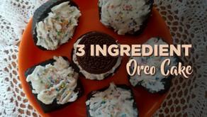 3 Ingredient Oreo Cake