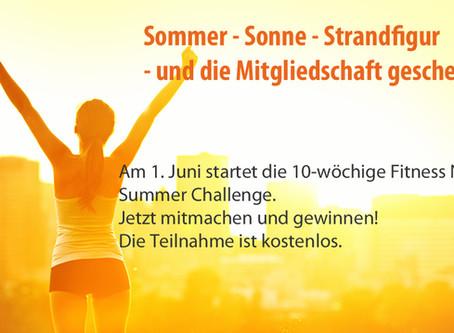 Sommer - Sonne - Strandfigur - und die Mitgliedschaft geschenkt