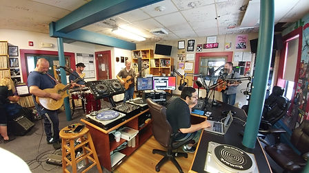 Mike Newman and the Cast Irons at WMFO