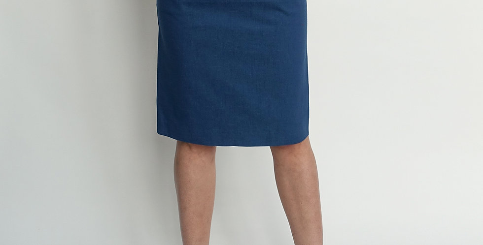 part #12 skirt - denim