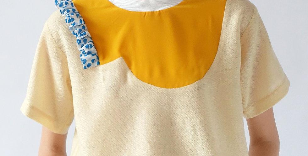 part #14 T-shirt - cream