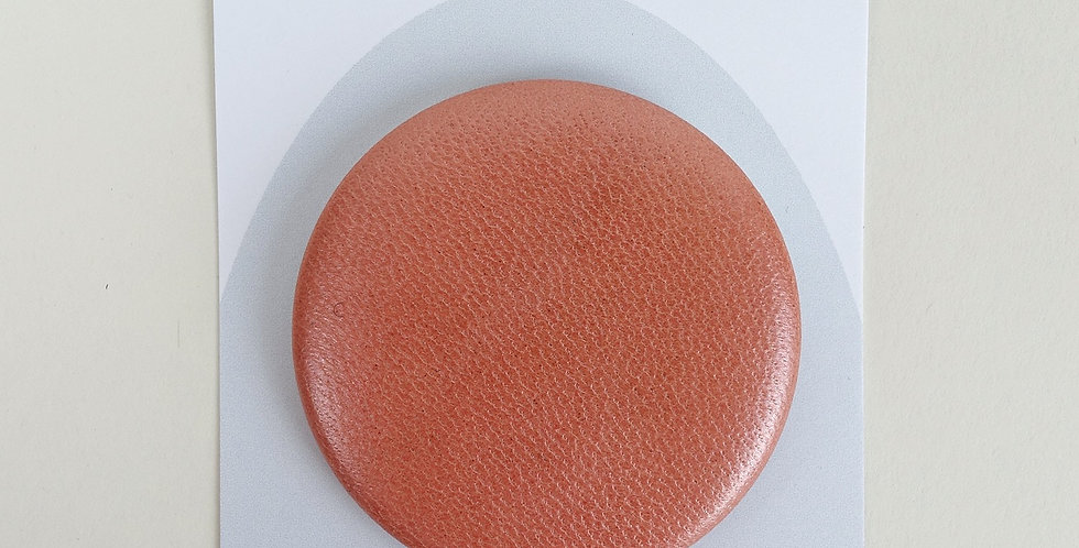 'a part of' Shiny Pink Leather