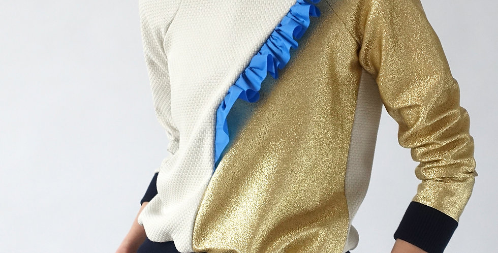 part #16 sweater - gold