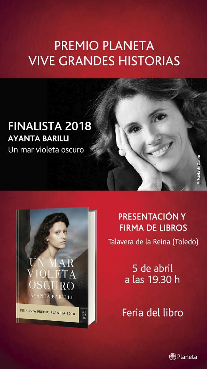 5 ABR. - PRESENTACIÓN Y FIRMA DE LIBROS TALAVERA DE LA REINA (TOLEDO)
