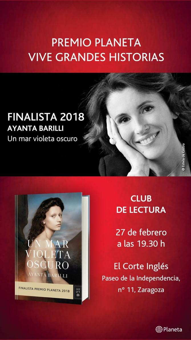 Miércoles 27 de Febrero - Corte Inglés Zaragoza 19:30h