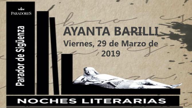 29 MAR - Noches Literarias Parador de Siguenza