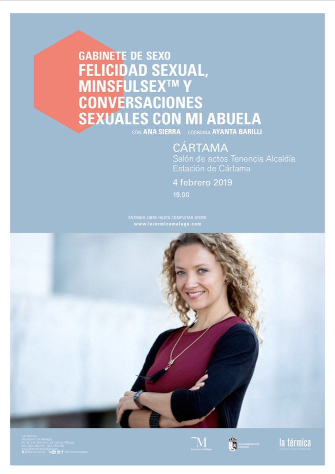 """Lunes 4 de febrero """"GABINETE DE SEXO"""" FELICIDAD SEXUAL MINSFULSEX Y CONVERSACIONES SEXUALE"""