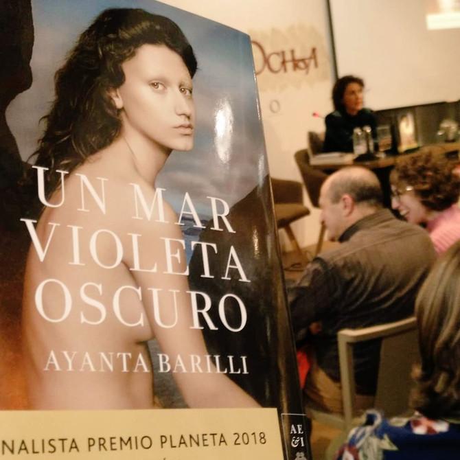 Imágenes del encuentro en la librería Santos Ochoa de Logroño.