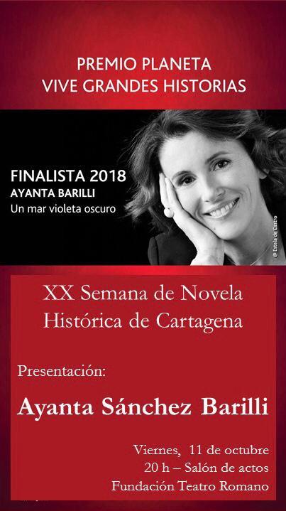 XX SEMANA DE NOVELA HISTORIA DE CARTAGENA