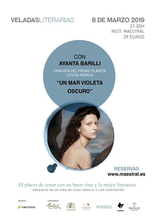 Velada Literaria Restaurante Maestral - 8 marzo