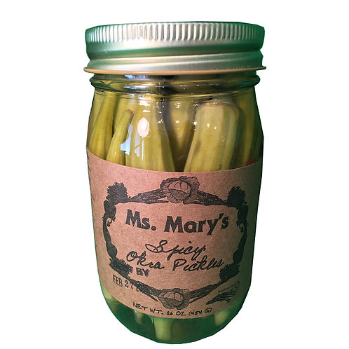 Ms. Mary's Spicy Pickled Okra