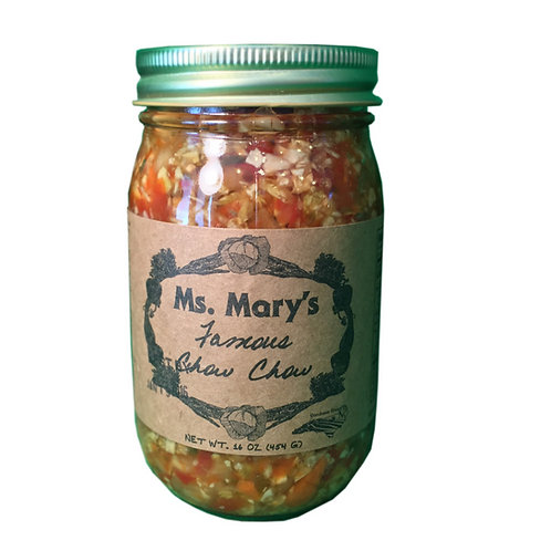 Ms. Mary's Famous Chow Chow