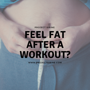 Why You Feel Fat After Working Out