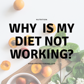 Why Is My Diet Not Working?
