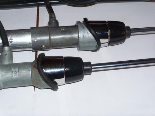 1955,56,57,58,59,60,61 Mopar Radio antenna masts 2