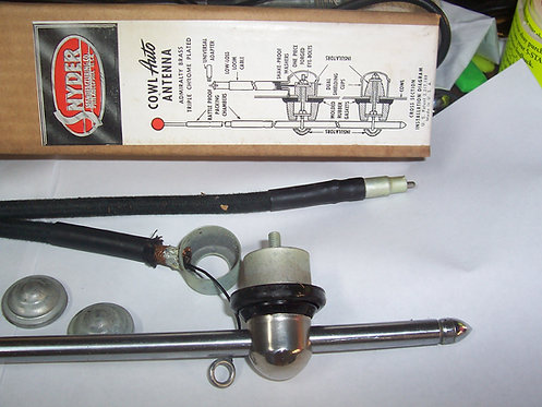 1930's thru 50's Snyder Side mount antenna ew