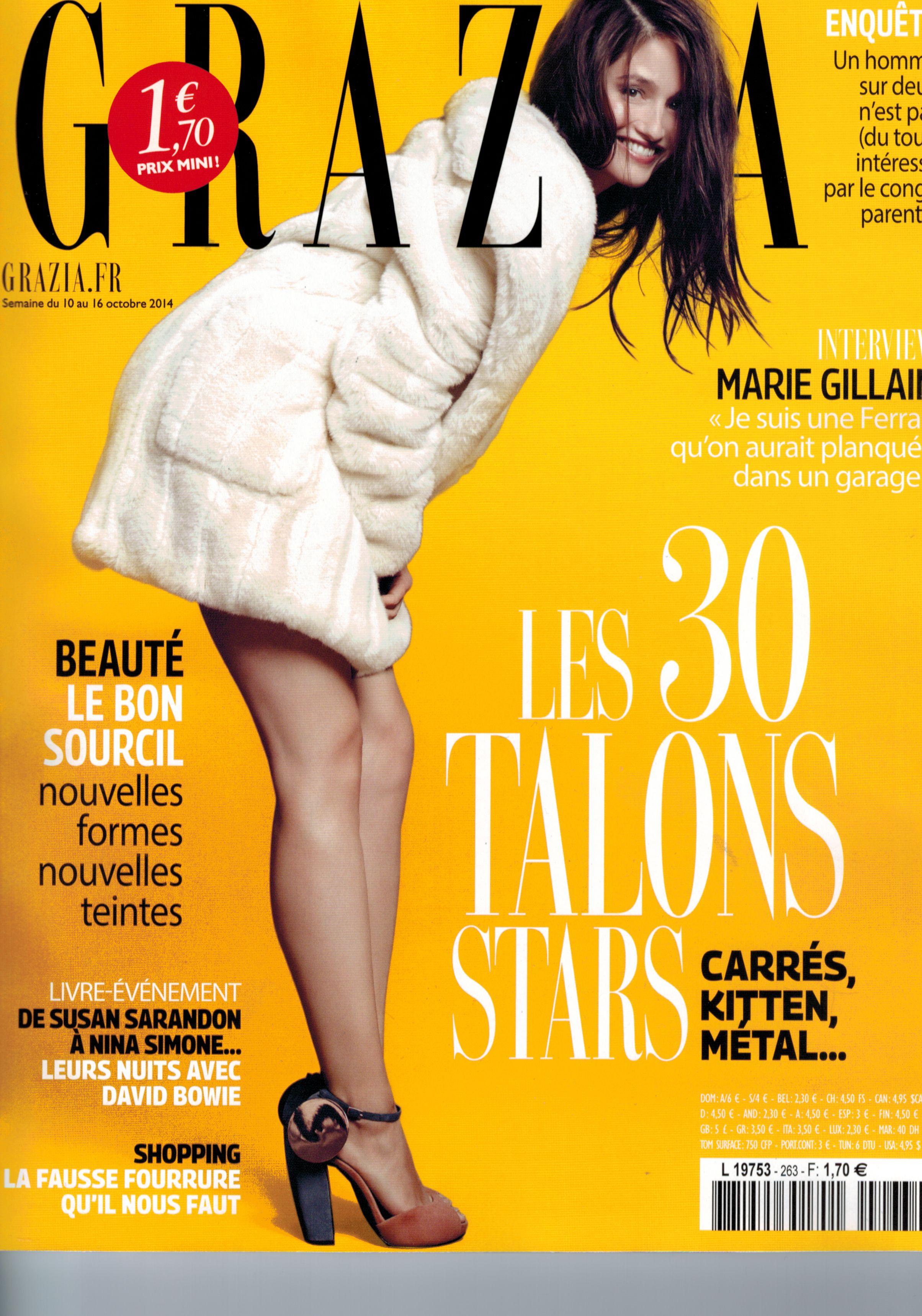 GRAZIA magazine 10.10.14